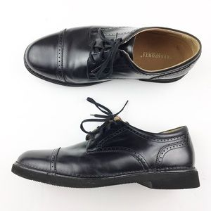 Rockport Mens 9 Lace Up Cap Toe Oxford Dress Shoe